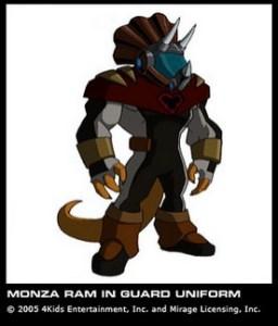 Triceraton Monza Ram In guard uniform 2k3 S2 E1-5