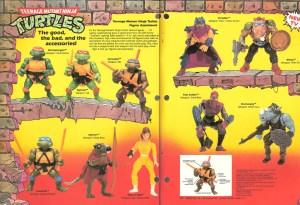 Figurines Playmates Toys TMNT 1988