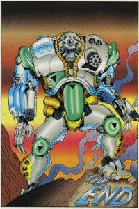 Baxter Stockman Comics Mirage 1984 2