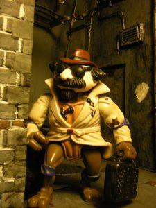 Figurine Donatello the undercover turtle 1990