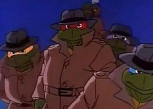 Tortues trenchcoat Série TV 1987