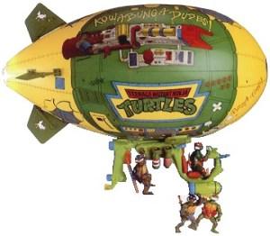 Véhicule Turtle Blimp II 1991
