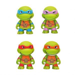 3'' Vinyl Figure set 4 Turtles Kidrobot 2014