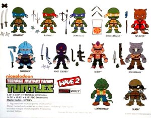 Figurines promo wave 2 The Loyal Subjects TMNT 2015