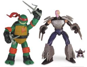 Figurines Raphael VS Shredder 2014