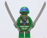 Leonardo Série 2 (Turtle Sub undersea chase)