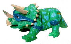 Figurie Cave Turtle Leo Dingy Dino 1992 Tortues Ninja TMNT