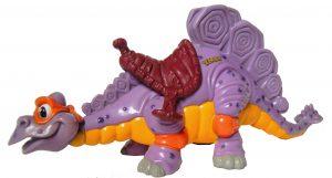 Figurine Cave Turtle Mike Stegosaurus 1993 Tortues Ninja TMNT