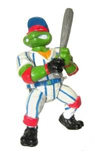 Figurine Grand Slammin' Raph 1991 Tortues Ninja TMNT