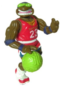 Figurine Slam dunkin' Don 1991 Tortues Ninja TMNT