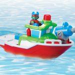 HSH Véhicule Bathtime Fire boat Captain Raph 2015 Tortues Ninja TMNT 2