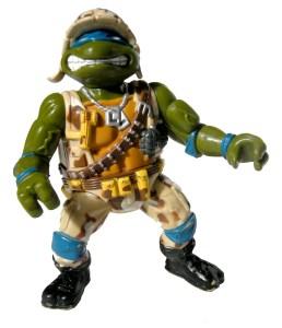 Tortues Ninja TMNT Figurine Lieutenant Leo 1991