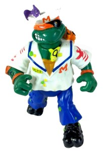 Tortues Ninja TMNT Figurine Midshipman Mike 1991