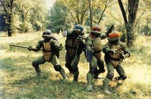 Tournage Film 1990 Tortues Ninja TMNT