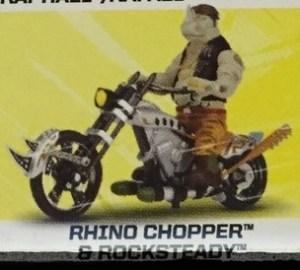 Figurine Véhicule Image Rhino Chopper & Rocksteady Film Ninja Turtles 2016 Tortues Ninja TMNT