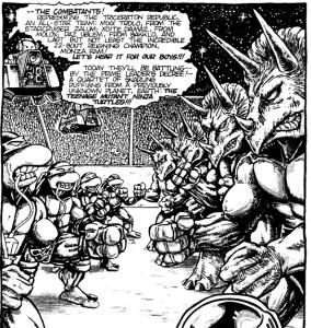 Monza Ram Mirage Comics 1986 Tortues Ninja Turtles TMNT