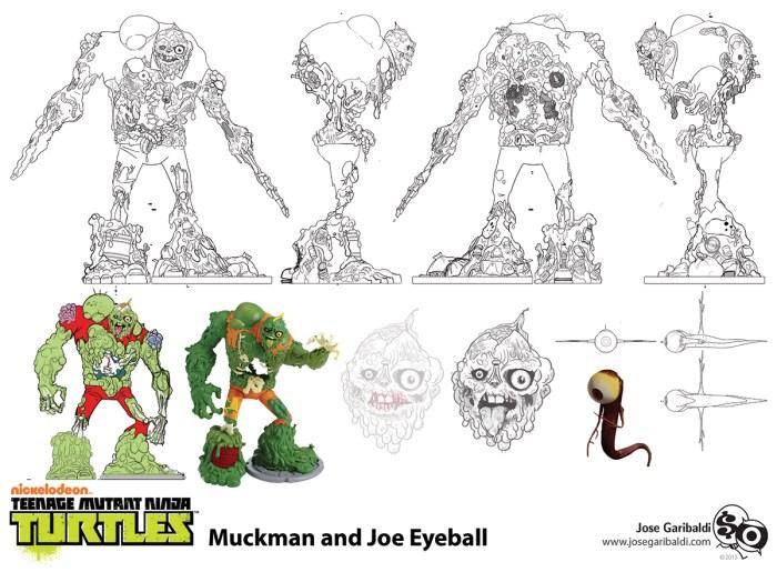 Personnage Muckman Série TV 2012 Concept Art Jose Garibaldi 2013
