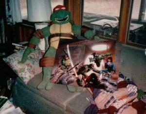Marionnette de Tony Basilicato 1985 Tortues Ninja TMNT