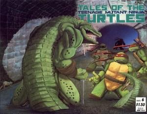 Couverture Tales of the TMNT Volume 1 Leatherhead #6 Tortues Ninja Turtles TMNT