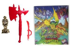 Accessoires rouges Warrior Bebop 1994 Tortues Ninja Turtles TMNT