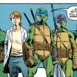 TMNT #72 IDW Comic 11 Alopex Raphael Leonardo April Donatello Michelangelo Angel Tortues Ninja Turtles TMNT