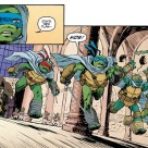TMNT #72 IDW Comic 3 Leonardo Tortues Ninja Turtles TMNT