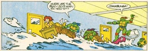 TMNT Aventures Mini-Series #1 9 Donatello Leonardo Raphael Michaelangelo April O'Neil Archie Comics Tortues Ninja Turtles TMNT
