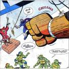 TMNT Adventures Archie Comics #2 7 Tortues Splinter Shredder Tortues Ninja Turtles TMNT