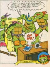 TMNT Aventures Mini-Series #3 Donatello Michaelangelo Leonardo Raphael Archie Comics Tortues Ninja Turtles TMNT