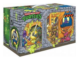 Boîte Retro Rotocast Sewer Lair Figure Set Playmates Toys 2021 Tortues Ninja Turtles TMNT_1