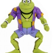 Figurine Genghis Frog Série TV 1987 NECA 2020 Tortues Ninja Turtles TMNT_1