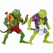 Figurines Genghis Frog Rasputin Série TV 1987 NECA 2020 Tortues Ninja Turtles TMNT_1