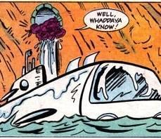TMNT Adventures #5 Archie Comics 6 Tortues sous-marin Tortues Ninja Turtles TMNT