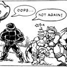TMNT Mirage Mini comics A Forgotten TMNT Adventure Mirage Comics 2 Cudley Tortues catch Tortues Ninja Turtles TMNT