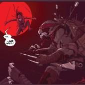 The last ronin #2 IDW Comic 11 Raphael Karai Tortues Ninja Turtles TMNT