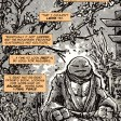 The last ronin #2 IDW Comic 20 Michelangelo Tortues Ninja Turtles TMNT