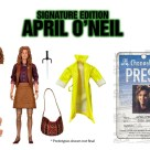 Figurine Ultimate Signature Edition April O'Neil Film 1990 NECA 2021 Tortues Ninja Turtles TMNT_1