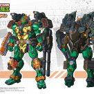 Concept art Michelangelo Snap Finger HeatBoys Tortues Ninja Turtles TMNT_1