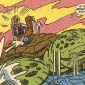 TMNT Adventures #17 Archie Comics 9 Cap'n Mossback Tortues Ninja Turtles TMNT