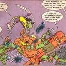 TMNT Adventures #19 Archie Comics 8 Leonardo Mondo Gecko Scul Bean Splinter Tortues Ninja Turtles TMNT