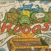 TMNT Meet Archie Comics 2 Red sails in the sunset 5 April Man Ray pirates Tortues Ninja Turtles TMNT