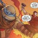 The last ronin #3 IDW Comic 19 Casey Jones Leonardo Tortues Ninja Turtles TMNT