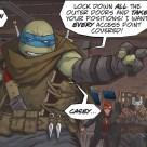 The last ronin #3 IDW Comic 9 Leonardo Tortues Ninja Turtles TMNT
