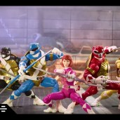 Figurines Lightning Collection Power Rangers Tortues Ninja Michelangelo April Donatello Leonardo Hasbro 2021 Tortues Ninja Turtles TMNT_1