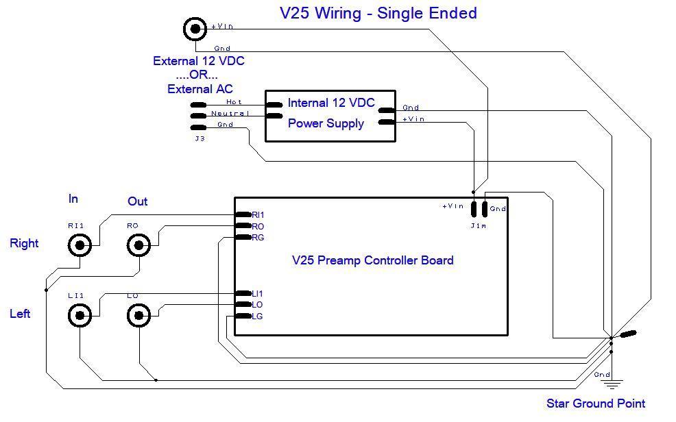 V Singleended Wiring Schematic