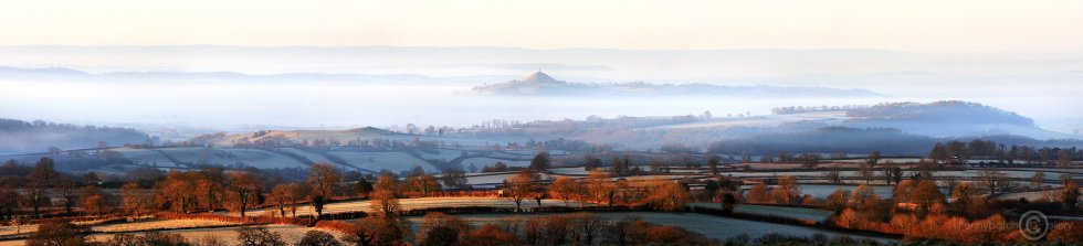 Glastonbury Tor from the Old Frome Road – web