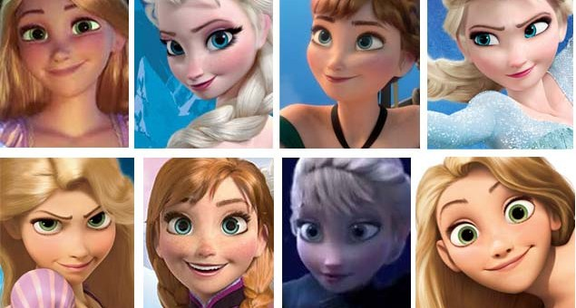 American BESM Frozen Tangled