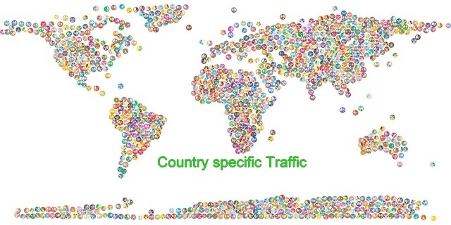 Country-specific-traffic