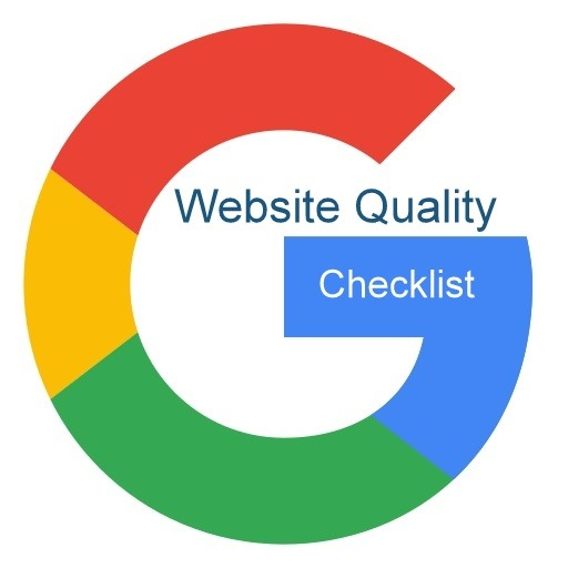 Website Quality checklist Guide by Google
