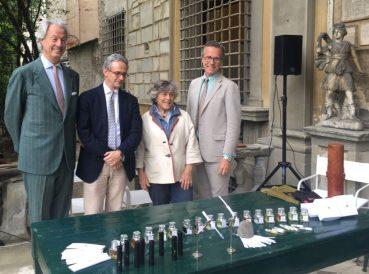 FL parfums Fausto Calderai, Fabio Luisi, Giorgiana Corsini, Neri Torrigiani